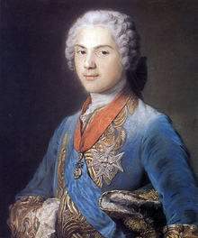 Louis de France, dauphin (1745) by Maurice Quentin de La Tour.png