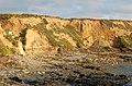 Low sandy cliffs near Godrevy Farm - geograph.org.uk - 1545334.jpg