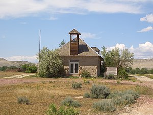 Shell, Wyoming - Lower Shell Schoolhouse