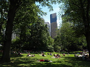 Marry Me a Little, Marry Me a Little More - The Central Park scenes were filmed in November 2002.