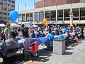 Lower Sproul Plaza during Cal Day 2010 4.JPG