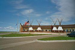 Administration Center, Bassa Brulé riserva indiana