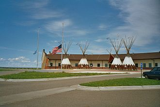 Lyman County, South Dakota - Image: Lower brule reservation 2 sd