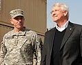 Lt. Gen. Caldwell talks with U.S. Senator Roger F. Wicker during a tour (4278167147).jpg