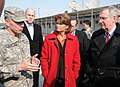 Lt. Gen. Caldwell talks with U.S. Senators Lisa Murkowski and Mitch McConnell during a tour (4278890660).jpg