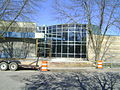 Ludington library side entrance.JPG