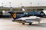 "Lufthansa Boeing 727-230-Adv D-ABKP ""Krefeld"" (27206484916).jpg"