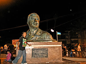 Luis Donaldo Colosio - Monument to Colosio.