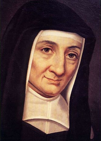 Louise de Marillac - Portrait of Saint Louise de Marillac, foundress of the Daughters of Charity