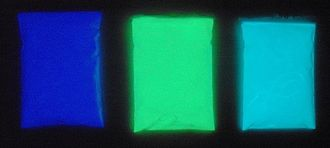 Super-LumiNova - LumiNova pigments in the dark