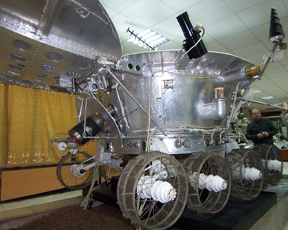Lunokhod-3 side