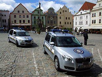 Municipal police - Městská policie in Český Krumlov (Czech Republic)