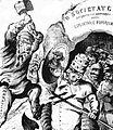 M. B. Baer - CELE DIN URMA ACTE ALE ANTICEI COMEDII, Ghimpele, 25 iul 1871.JPG