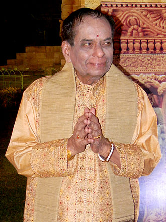 M. Balamuralikrishna - M. Balamuralikrishna during Rajarani Music Festival at Bhubaneswar on 19 January 2013