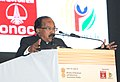 M. Veerappa Moily addressing at the inauguration of the 11th International Oil & Gas Conference and Exhibition – PETROTECH-2014, in Noida, Uttar Pradesh on January 12, 2014.jpg