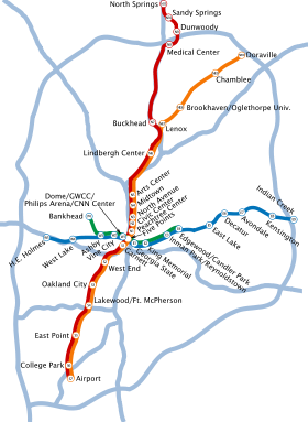 Image illustrative de l'article Métro d'Atlanta