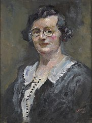Portrait of Miss I. Robertson