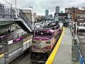 MBTA 1127 at Yawkey, March 2014.jpg