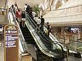 MC 澳門銀河電影院 UA Galaxy Cinemas interior n visitors escalators n sign Nov 2016 SSG 02.jpg