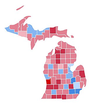 United States presidential election in Michigan, 2004 - Image: MI2004