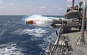 MK46 torpedo launch