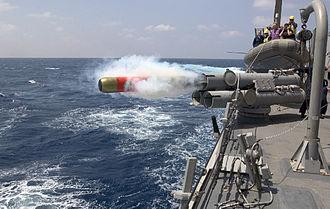 Mark 46 torpedo - Image: MK46 torpedo launch