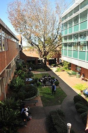 MLC School - A new quadrangle at MLC School