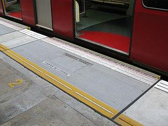 Platform gap filler - Platform gap fillers in Hong Kong