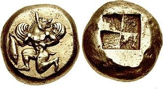 Cyzicus - Coin of Kyzikos, Mysia. Circa 550-500 BC