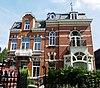 foto van Directeurswoning, in eclectische stijl met overwegende invloeden van Jugendstil.