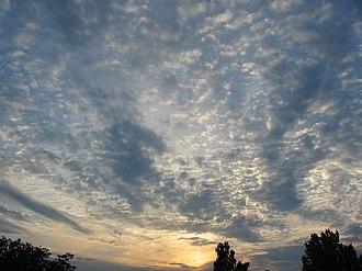 Mackerel sky - Image: Mackerelskybig 2