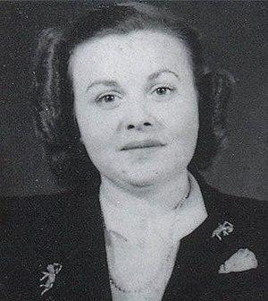 Madeleine Damerment - Photo taken during WW2.