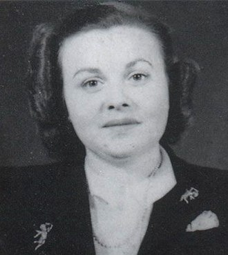 Madeleine Damerment - Photo taken during WW2.