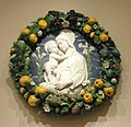 Madonna and Child, workshop of Andrea della Robbia, Florence, 16th century - Nelson-Atkins Museum of Art - DSC08530.JPG