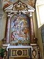 Madonna di Mongiovino - Kreuzabnahmekapelle 1 Altar.jpg