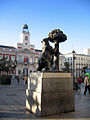 Madrid. Puerta del Sol square. Bear and Arbutus. Spain (2745694037).jpg