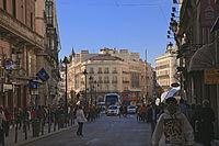 Madrid. Puerta del Sol square. Carrera de San Jerónimo street. Spain.jpg