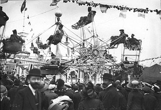 Ferris wheel - Magic-City, Paris, France, 1913