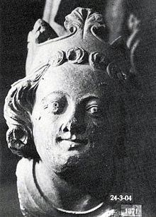 Magnus IV of Sweden bust 1330s (photo c 1910).jpg