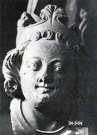 Magnus IV of Sweden - Head from Trondheim thought by Professor Jan Svanberg to be King Magnus.