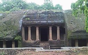 Mahakali Caves - Kondivite Caves, Cave 2.