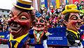Mainz - Rosenmontagzug2015 - Parade Masks.jpg