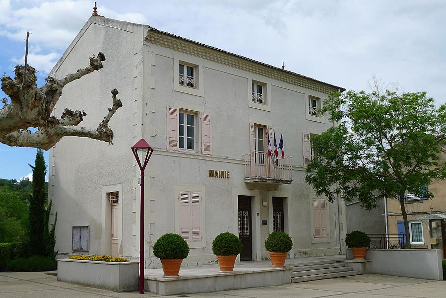 Town hall of Larnage - Drôme - France