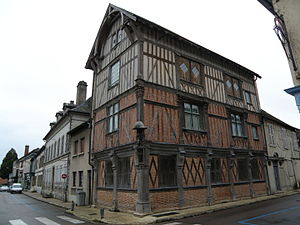 Bar-sur-Seine - The Timbered House