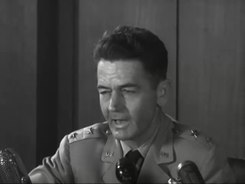 Податотека:Maj. Gen. John A. Samford's Statement on Flying Saucers.webm