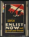 Make the world safe-Enlist now and go with your friends LCCN2001700145.jpg