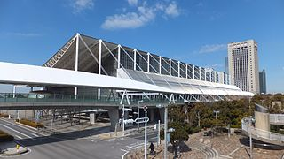 Makuhari Messe Japanese convention center in the Mihama-ku of Chiba city