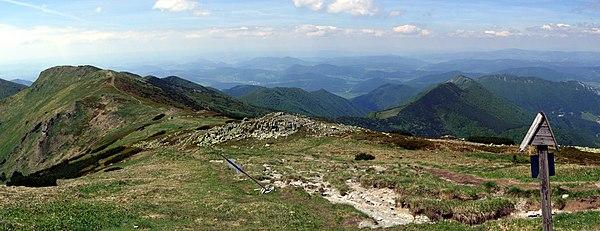 Malá Fatra - panorama by Pudelek.jpg