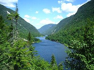 Eastern forest-boreal transition - Hautes-Gorges-de-la-Rivière-Malbaie National Park in Quebec.
