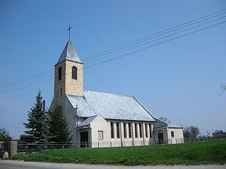 Mały Mędromierz Village in Kuyavian-Pomeranian Voivodeship, Poland